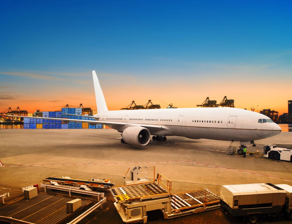 World Trading With Industries ship and Air Cargo