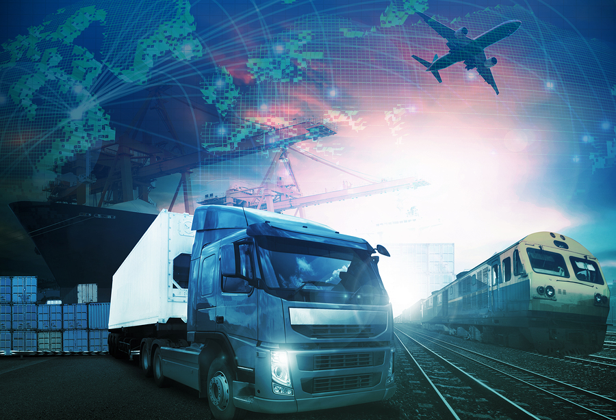 World Trading With Industries Truck